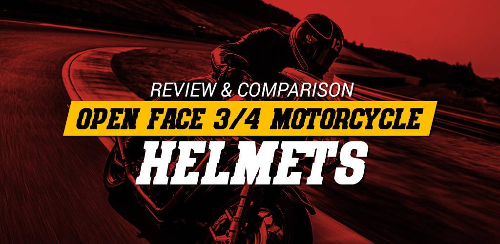 Best Open Face 3-4 Helmet